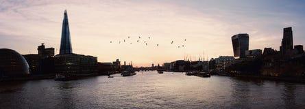 Panoramic London Stock Image