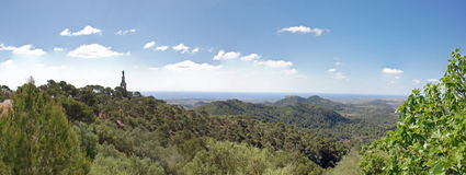 Panoramic Majorca Stock Photography