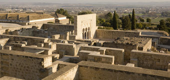 Panoramic of Medina Azahara. Cordoba. Royalty Free Stock Image