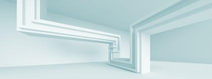 Panoramic Modern Interior Background Royalty Free Stock Photo