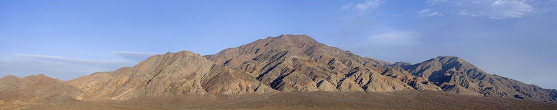 Panoramic of Monte Cristo Mountains Royalty Free Stock Image