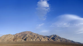 Panoramic of Monte Cristo Mountains, Nevada Royalty Free Stock Photos