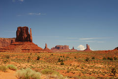 Panoramic Monument valley Royalty Free Stock Image