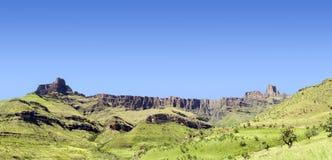 Panoramic mountain Royalty Free Stock Photo
