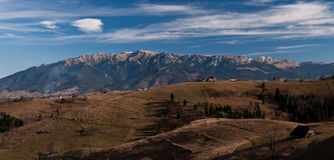 Panoramic Mountain Royalty Free Stock Photo