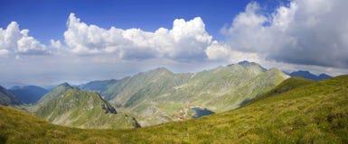 Panoramic mountain landscape Stock Photos