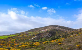Panoramic mountain landscape of Morocco Royalty Free Stock Image