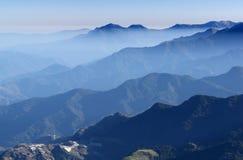 Panoramic mountain scenery. Stock Photos
