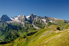 Panoramic Mountains stock images