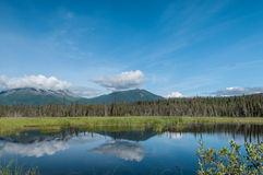Panoramic mountains Royalty Free Stock Photo