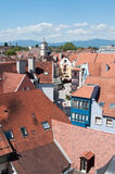 Panoramic of Mulhouse Royalty Free Stock Photo