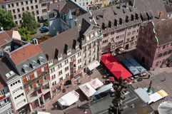 Panoramic of Mulhouse - Alsace Stock Photos