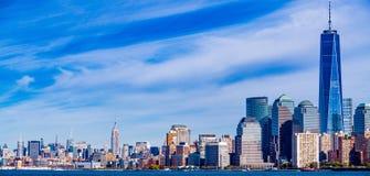 Panoramic of New York City Stock Photo