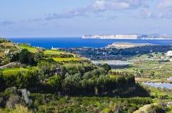 Panoramic North Malta Stock Photo