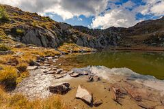 Free Panoramic Of Lake Of Arcoglio - Valtellina IT Royalty Free Stock Images - 170491399