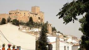 Panoramic ofCastle of Velez Blanco-Almeria Stock Image