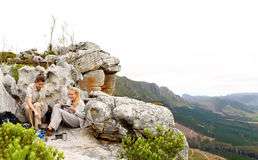 Panoramic outdoor lifestyle hiking Stock Photography
