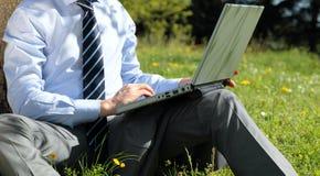 Panoramic outdoor work Stock Photos
