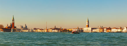 Panoramic overview of Venice Royalty Free Stock Images