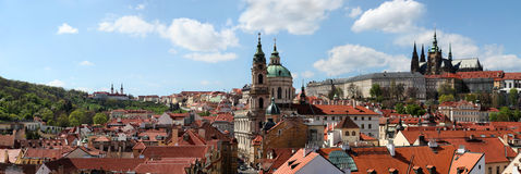 St Nicholas church in Prague Stock Photos