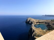 Panoramic Photo of Rhodos Royalty Free Stock Photography