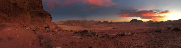 Panoramic Photo of Rocky Mountain Royalty Free Stock Image