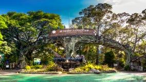 Panoramic photo Thailand Chiang Mai Zoo & Aquarium Royalty Free Stock Images