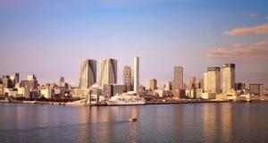 Panoramic photo of Tokyo City along Royalty Free Stock Image