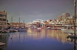 Puerto Marina.Benalmádena Costa. Málaga. royalty free stock photo