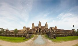 Panoramic picture Angkor Wat Stock Photos