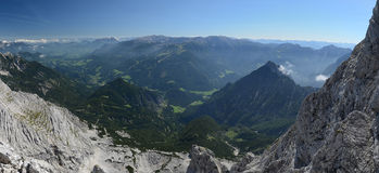 Mountain valley, Totes Gebirge, Alps Royalty Free Stock Photo