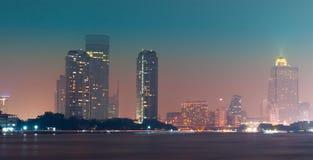 Panoramic picture skyline Stock Image