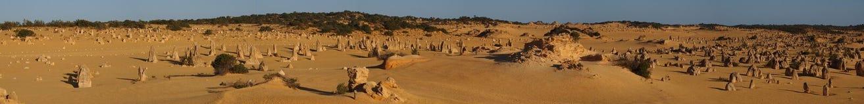 Panoramic Pinnacles stock photos