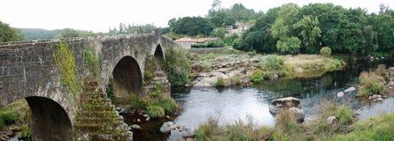 Panoramic Ponte Maceiras Stock Photos