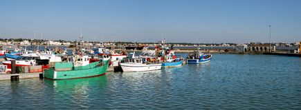 Panoramic Port of Royan in France Royalty Free Stock Photos