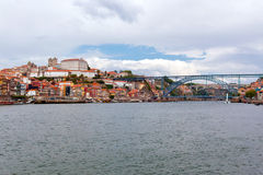 Panoramic of Porto city Royalty Free Stock Images