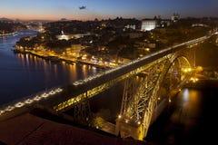 Panoramic of Porto, Portugal Stock Photos
