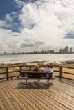 Panoramic in Punta del Este. Uruguay Royalty Free Stock Photo