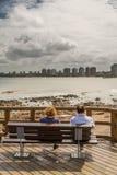 Panoramic in Punta del Este. Uruguay Stock Photo