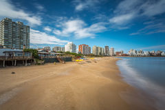 Panoramic in Punta del Este. Uruguay Royalty Free Stock Photos
