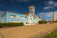 Panoramic in Punta del Este Stock Images
