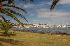 Panoramic in Punta del Este Royalty Free Stock Photography