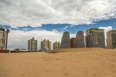 Panoramic in Punta del Este Royalty Free Stock Image