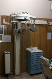Panoramic radiography machine. Old styled Stock Photos