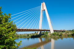 Panoramic Royal Bridge Stock Photography