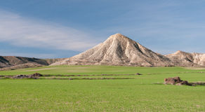 Panoramic rural landscape Royalty Free Stock Photo