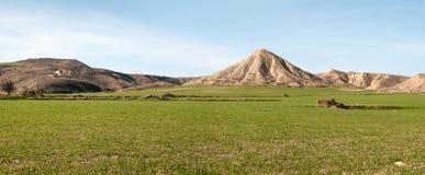 Panoramic rural landscape Stock Images