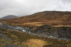 Panoramic scenery near Ullapool Stock Photos