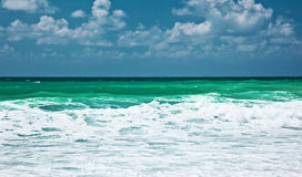Panoramic sea landscape Stock Photography