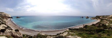 Panoramic sea view Stock Photo